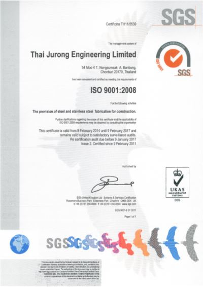 Thai Jurong Engineering Limited (TJEL) A Global Engineering and
